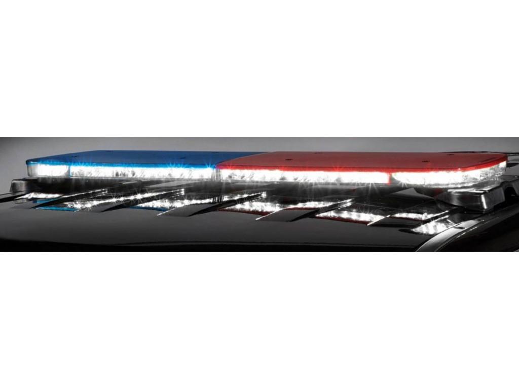 Led light bar police light bars lightbars illinois - Federal signal interior lightbar ...
