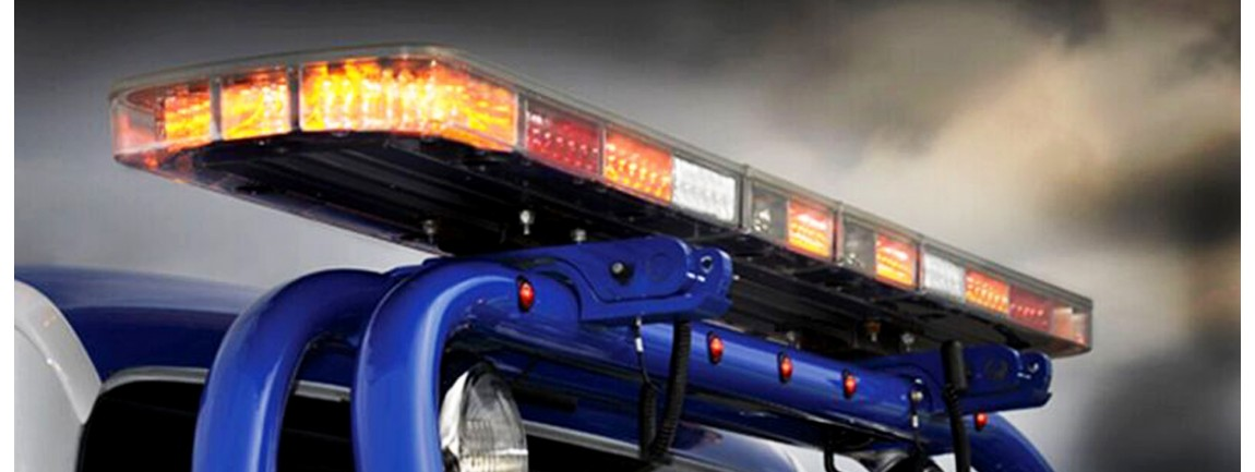 Illinois fire and police equipment - Federal signal interior lightbar ...