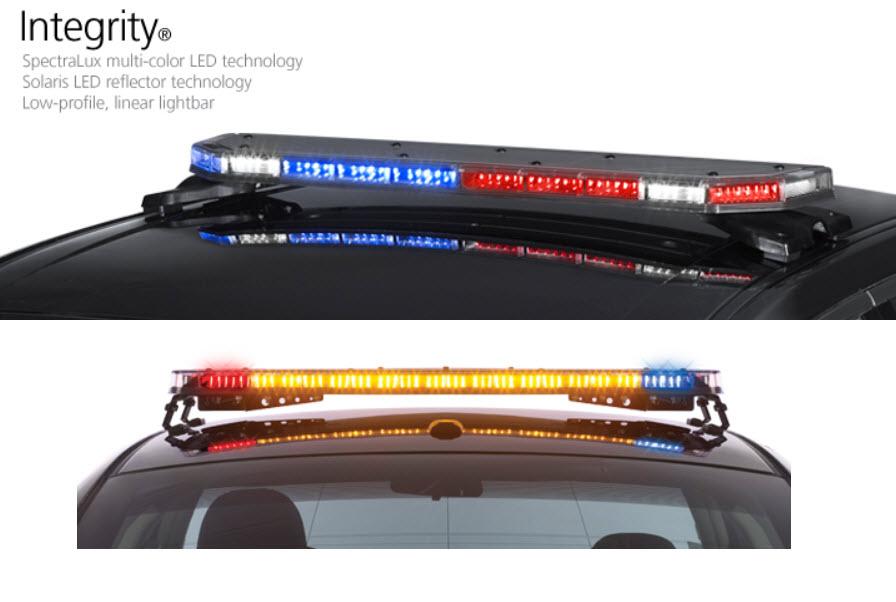 Led bar police lights vehicle lighting illinois fire police federal signal integrity lightbar federal signal integrity lightbar aloadofball Choice Image