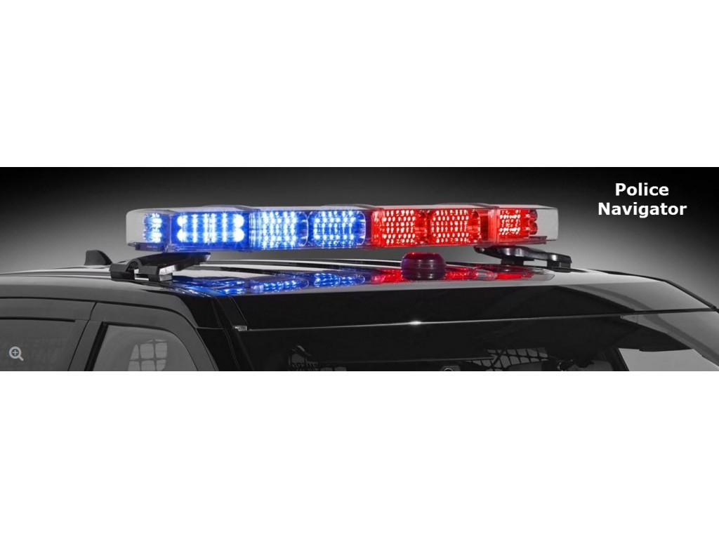 Led light bar police light bars lightbars illinois fire federal signal navigator lightbar aloadofball Choice Image