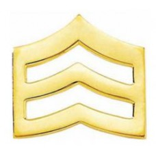Blackinton Sergeant Collar Insignia J60