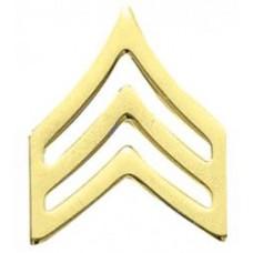Blackinton Sergeant Collar Insignia J130